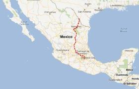 Laredo to Mexico City