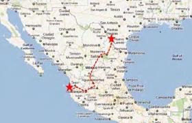 Laredo to Puerto Vallarta