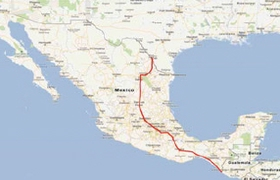 Laredo to Tapachula