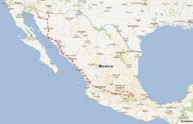 Nogales to Mexico City