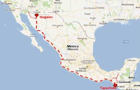 Nogales to Tapachula