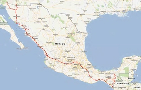 Nogales to Mexico City to Tapachula