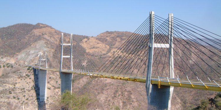 Bridge over Rio Balsas, Mexico