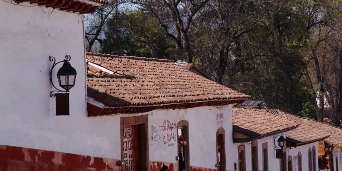 Colonial Rooftops in Patzcuaro, Mexico