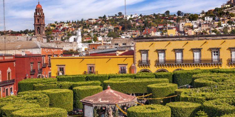 Mexico Colonial Skyline