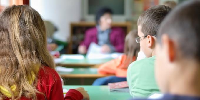 Children in School Classroom