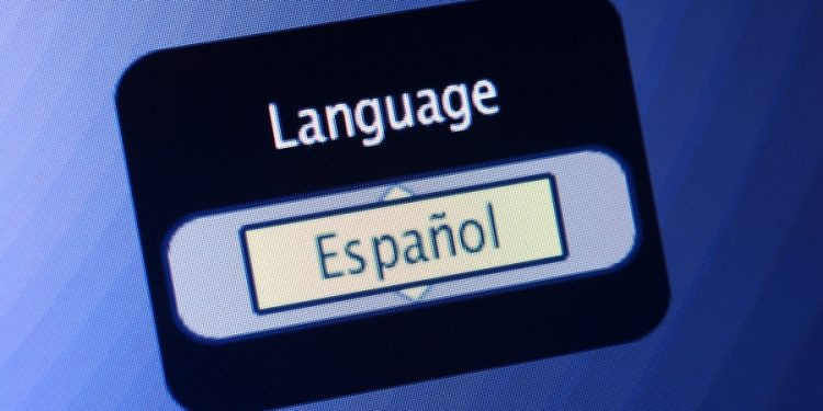 Selecting Spanish Language