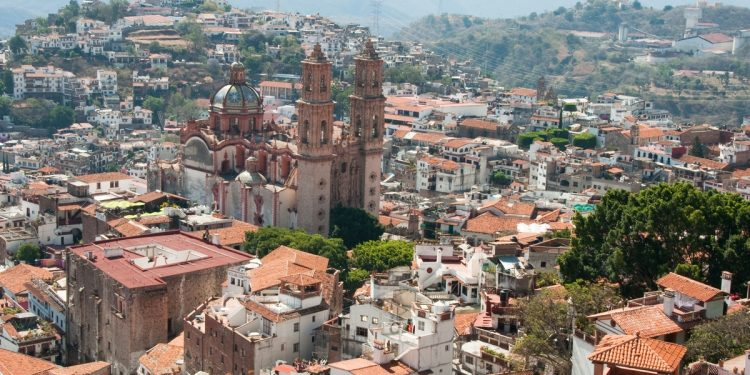 Vantage Point View of Taxco