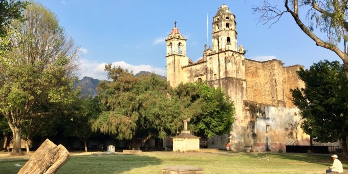 Tepoztlan - Ex Convent and Church