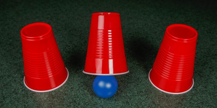 Three Cups and a Ball game