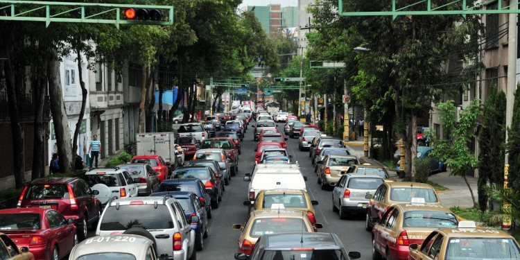 Mexico City Traffic Light Congestion