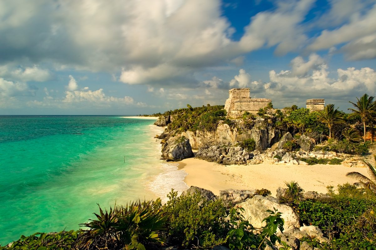 Tulum Beach and Archaeology