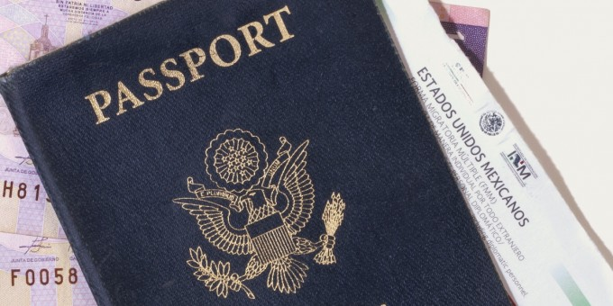 US Passport and Mexican Visitor Visa