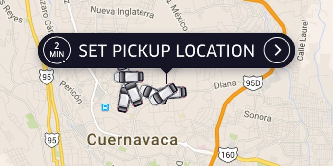 Uber Services in Mexico