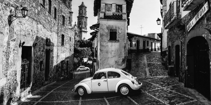 VW Taxi in Taxco