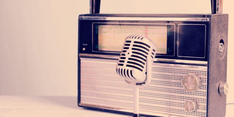 Vintage Radio on a table