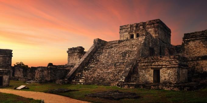 Yucatan Pyramids