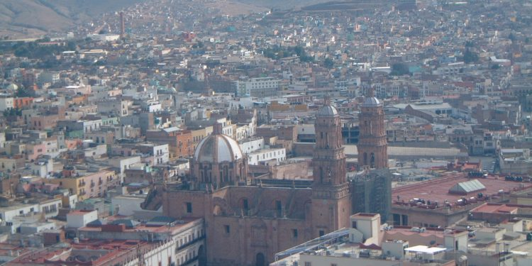 Zacatecas View from the Cable Car, Mexico
